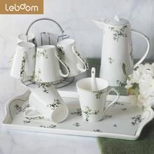 陶瓷杯套装6只装家用现代客厅茶几茶具水杯子整套简约创意小清新