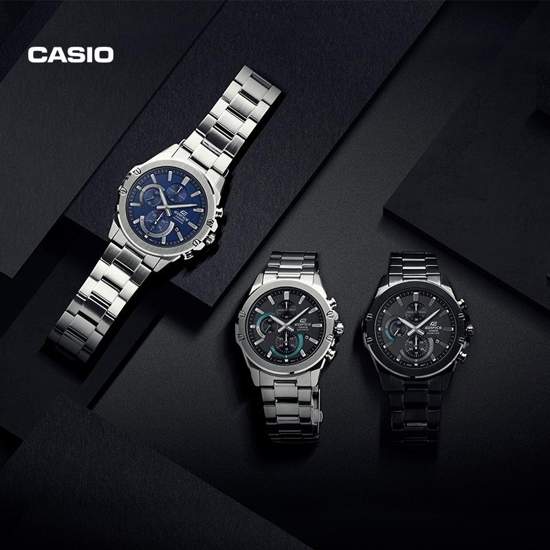 casio旗舰店EFR-S567YD防水男士手表卡西欧官网EDIFICE官方正品
