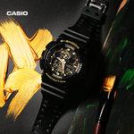 casio旗舰店GA-100CF迷彩男士运动手表卡西欧官网G-SHOCK官方正品