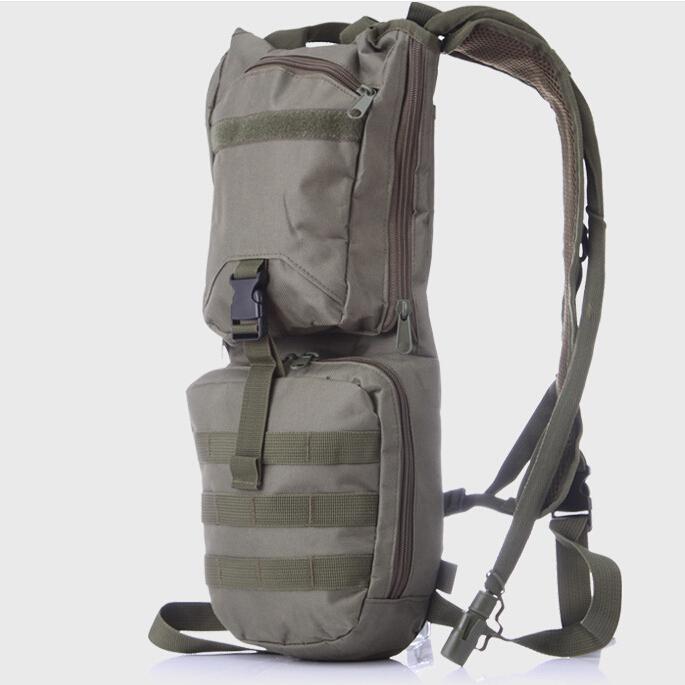 自行车骑行大口内胆3L背包户外休闲水袋包3p战术双肩包军迷冲锋包