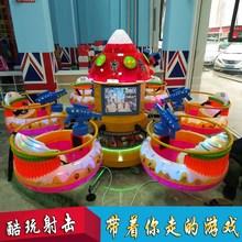 游戏机儿童游乐园室内设备广场户外游乐场电动旋转木马淘气堡 新款图片