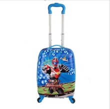 18-inch Armored Warriors Children's Pull-rod Box Boys'Luggage Box Men's and Women's Universal Wheel Luggage Student's School Bag