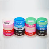 Tiger brand mug coaster silicone coaster with logo wear-resistant anti-slip 6-6.5cm base protective cover protection mat