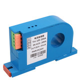 Perforated AC current transducer transformer voltage sensor 0-10V output 4-20mA integrated module 50A