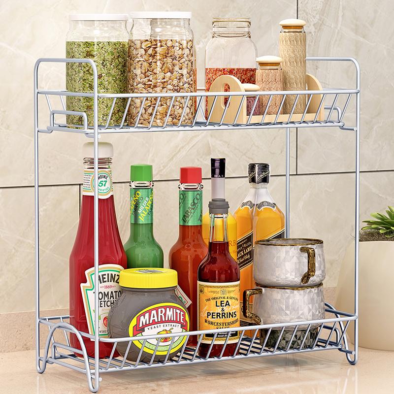 天天特价调料架子厨房用品调味品置物架调味料收纳架角架调料瓶