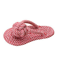 Pocci net pet toy Yili two-color slippers cotton rope section small dog toy bite-resistant dog toy