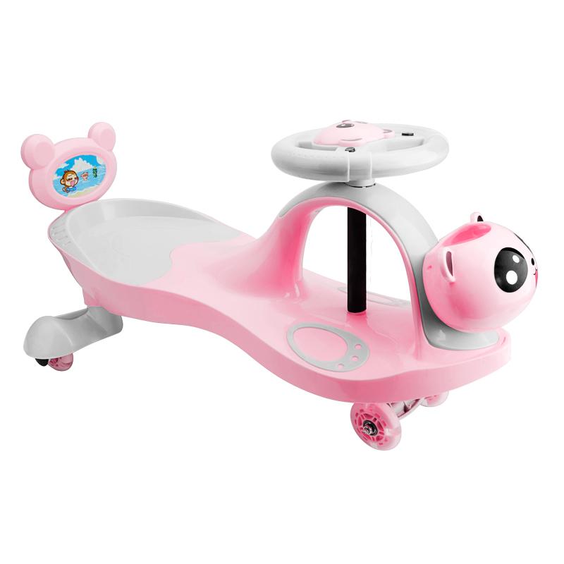 儿童扭扭车万向轮1-3岁防侧翻女孩宝宝男摇摆滑行滑滑妞妞溜溜车