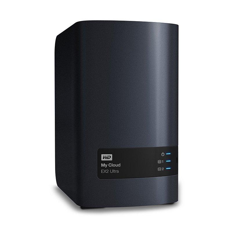 WD西部数据My Cloud Ex2 Ultra 16tb网络硬盘nas个人云存储