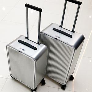 金属侧开全铝镁合金拉杆箱16行李箱子20摄影商务旅行箱24寸登机箱