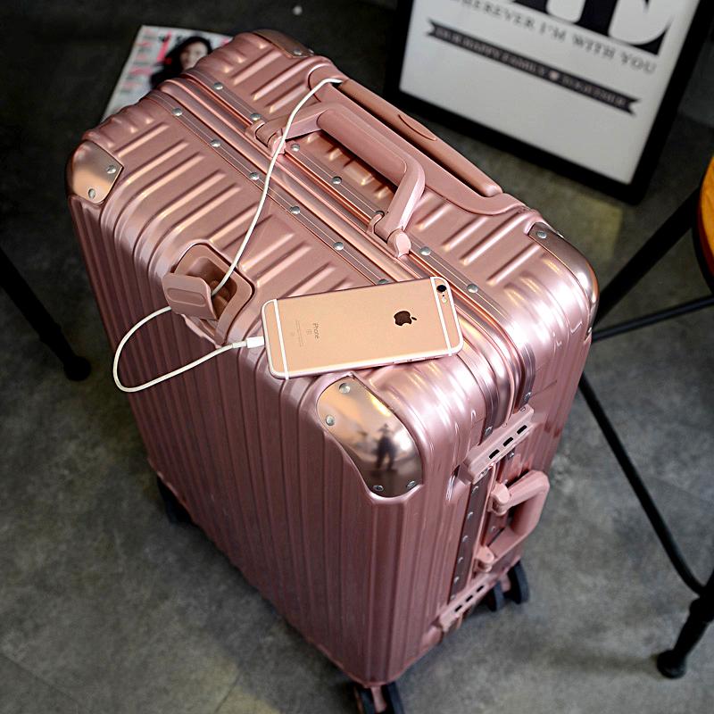 pc拉杆箱学生行李箱