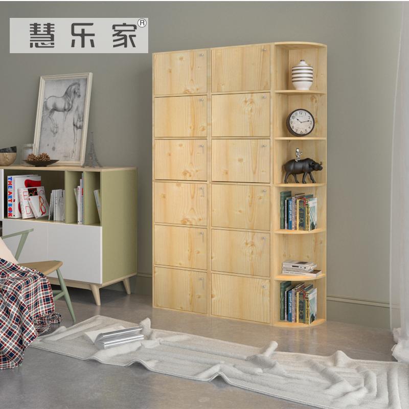 客厅转角柜6层墙角柜高158cm角落架置物架白枫木色三角柜储物柜