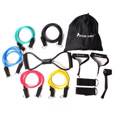 彈力繩健身力量訓練多功能拉力器家用健身器材彈力帶健身拉力繩專賣店