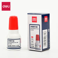 Effective photosensitive ink pad ink red non-atomic seal oil financial special seal ink large bottle photosensitive oil seal ink red wholesale office supplies