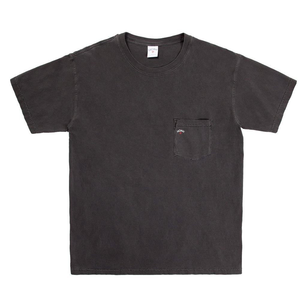 18ss NOAH Pocket Tee 口袋十字小logo 短袖T恤 黑白
