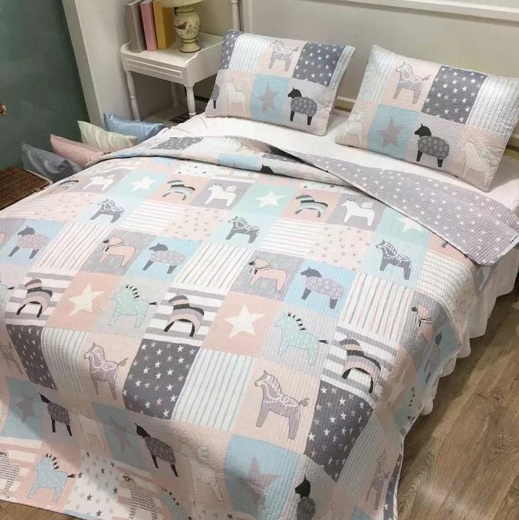 绗缝被床盖单被床单