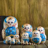 进口正品俄罗斯套娃20层15层纯手工椴木节日礼品摆件儿童益智玩具
