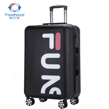Travel home luggage, Korean version, small fresh woman pull rod box, universal wheel, boarding bag, travel case, password box.
