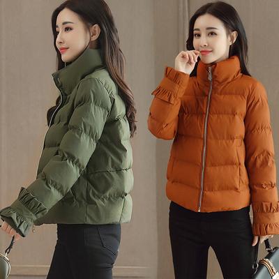 反季棉服女短款2018新款冬季韩版潮流棉衣休闲面包服时尚女款棉袄