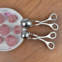 Stainless steel meatball maker making meatballs kitchen artifact fried meat round meatballs small tools rice ball clamp mold