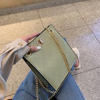 小包高级感包包洋气质感女包2019新款菱格包百搭时尚chic链条斜挎