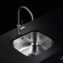 科勒佳德304不锈钢水槽加厚台下厨房洗菜盆72150吧台迷你单槽套餐