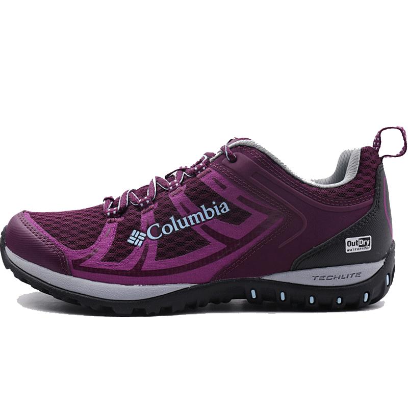 Columbia哥伦比亚女鞋2018春季新款户外耐磨轻便缓震徒步鞋DL1240