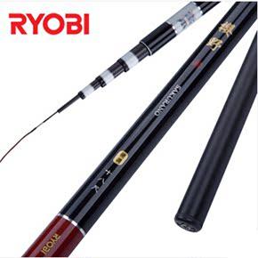 RYOB利优比樱野3.6/4.5米碳素超轻细钓鱼竿鲤杆手竿台钓竿鲫鱼竿