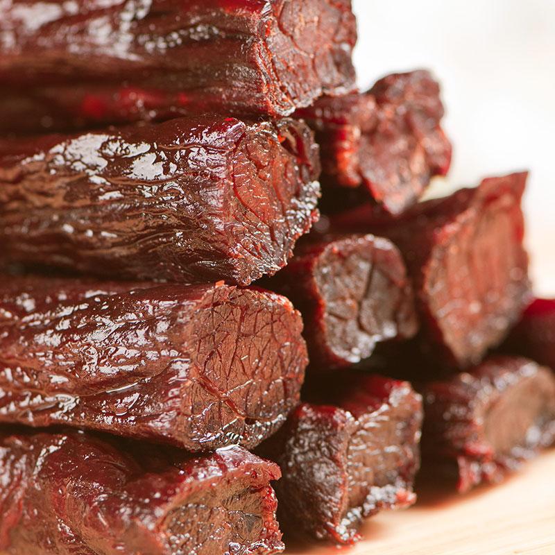 风干牛肉干 内蒙古手撕风干牛肉干250g 零食特产小吃