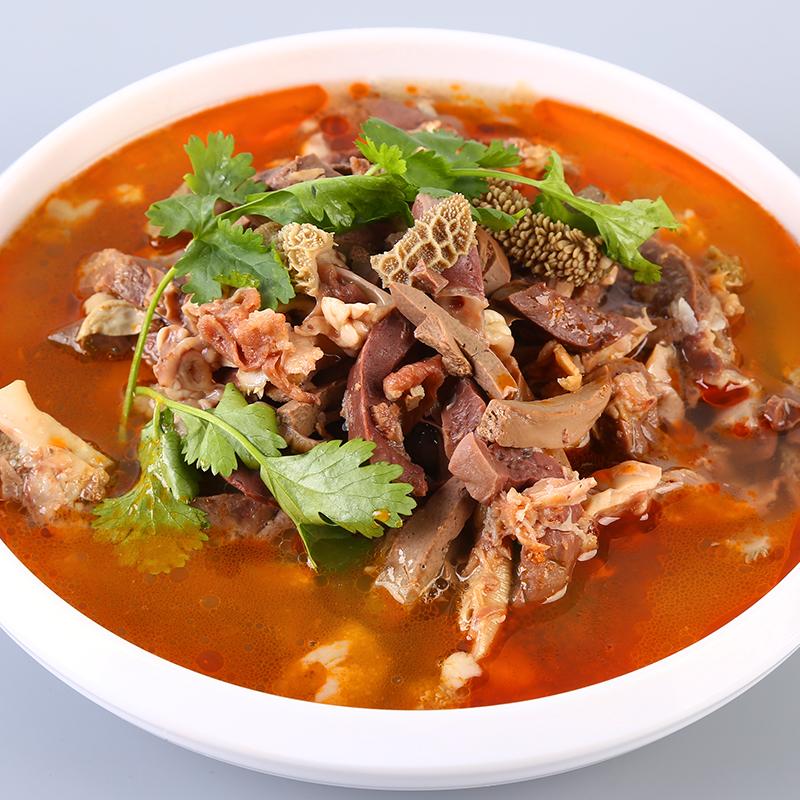 内蒙古特产羊杂小吃 新牧哥羊杂汤238g*3袋 羊杂羊汤碎羊肉新鲜