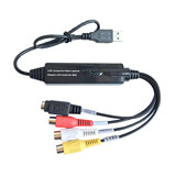 Free drive USB video capture card HD notebook AV set-top box monitoring acquisition card Video conference capture card