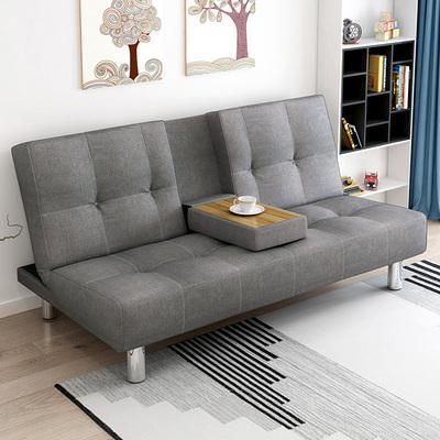 多功能折叠沙发简约现代布艺沙发经济型沙发床北欧双人沙发带茶几哪里便宜