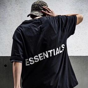 Battle BJZH Fear Of God FOG Essentials Graphic 男女短袖TEE