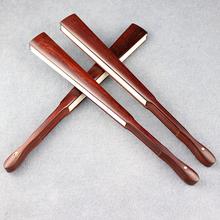 印度小叶紫檀空白文玩折扇中国风复古文玩扇子7910寸宣纸手持扇子