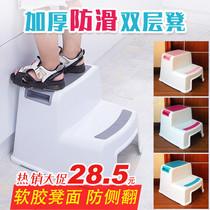 31加厚塑料凳子儿童小板凳欧式家用换鞋凳大人茶几矮凳浴室防滑椅