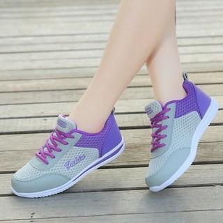 回力2019秋季新款正品网鞋透气网面跑步鞋软底轻便百搭运动鞋女鞋