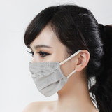 Silver fiber anti-radiation anti-UV mask mask soft light and breathable computer female face genuine anti-computer