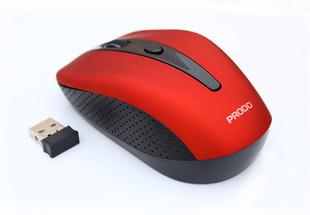 工厂倒闭原装 包邮 普拉多无线鼠标白红绿色笔记本台式机鼠标 库存