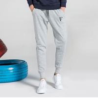 Federer tennis trousers new autumn and winter tennis trousers set plus velvet feet pants tennis training pants