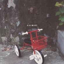 muji无印儿童三轮车自行车脚踏车脚蹬单推车摄影道具 INS爆款图片