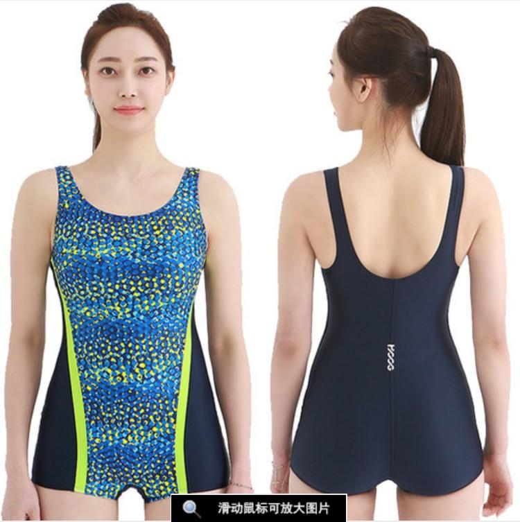 豹纹泳衣韩国