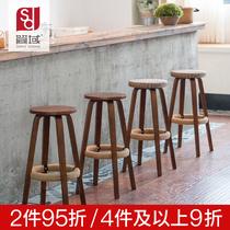 吧台椅酒吧椅旋转升降靠背吧椅子家用高脚凳吧凳圆凳子美容凳转椅