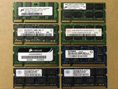 原装正品笔记本内存条 DDR2 2G 667/800 2代PC2-5300/6400 2G兼容