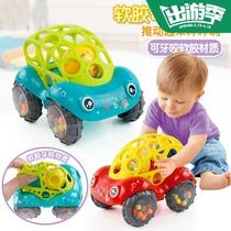 惯性四驱越野车儿童男孩模型车抗耐摔宝宝小汽车玩具车0-1-3-5岁