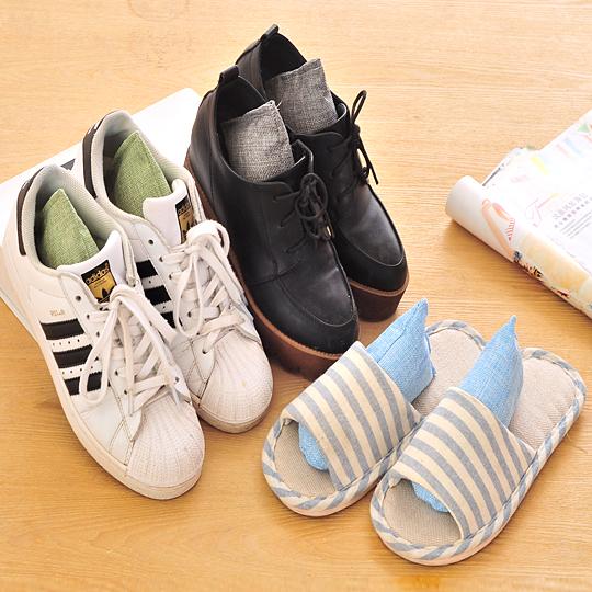 除鞋臭炭包鞋子除臭活性炭包 去鞋臭味竹炭包 除味祛味鞋塞扩鞋器