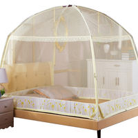 Mongolian net 1.8M bed 1.5 double household encryption thickened single 2018 new three-door 1.2 meters bed