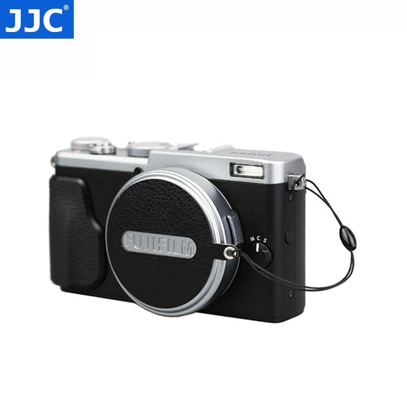JJC 镜头盖防丢绳富士X70 X100 X100T X100S X100F相机皮贴 Fujifilm配件