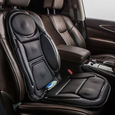 睿康汽车加热按摩坐垫 家用 车用按摩座椅座垫12V