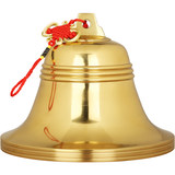 Copper bell pendant wind bell pendant pure copper wealth-seeking ornament safe living room door decoration crafts