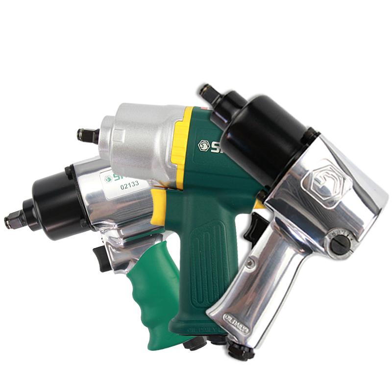 世达工具气动扳手工业冲击扳手 1/2大中小风炮汽修气动工具 02121