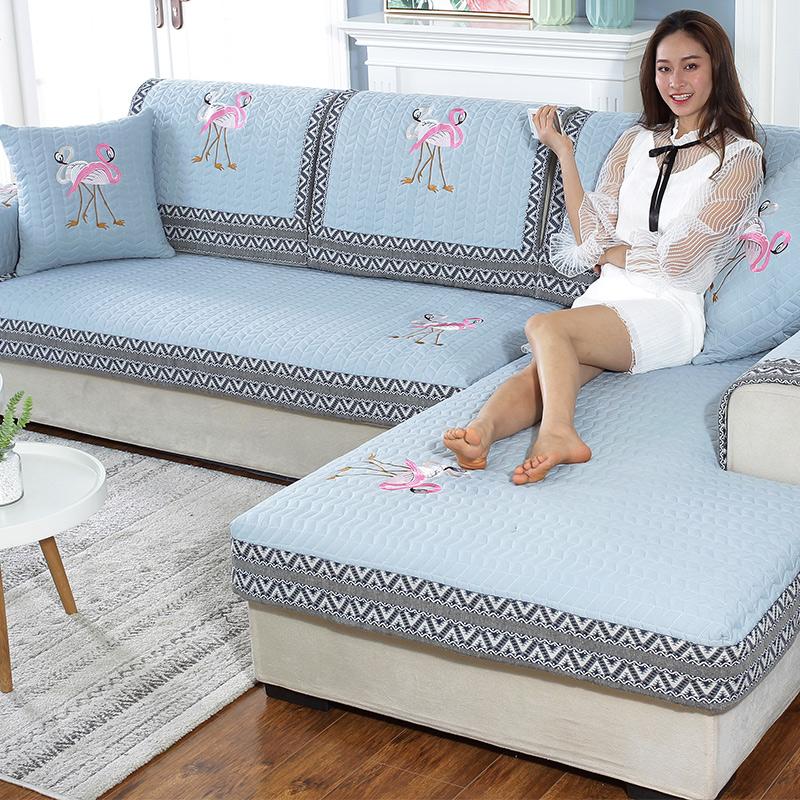 沙发垫刺绣
